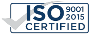 ISO 9001:2015 Certified mark